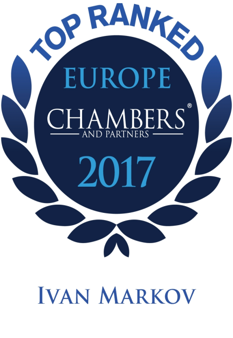 Top Ranked Europe Chambers 2017 Ivan Markov